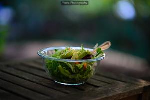 Fancy greens salad