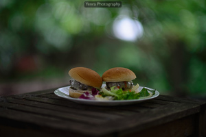 Provolone cheeseburgers