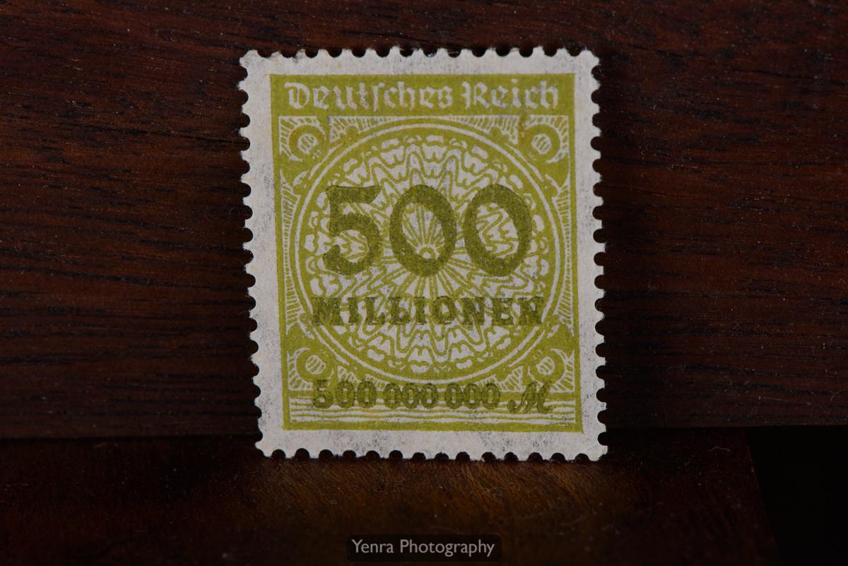 500 Million Mark German Stamp