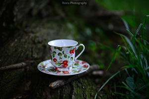 Strawberry Teacup